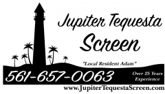Jupiter Tequesta Screen Repairs